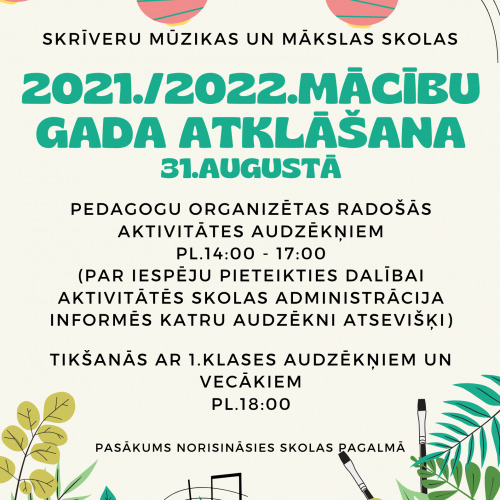 2021./2022.m.g. atklāšana