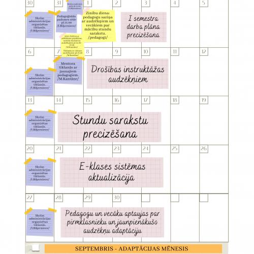 Darba plāns 2021./22. m.g. pirmajam semestrim